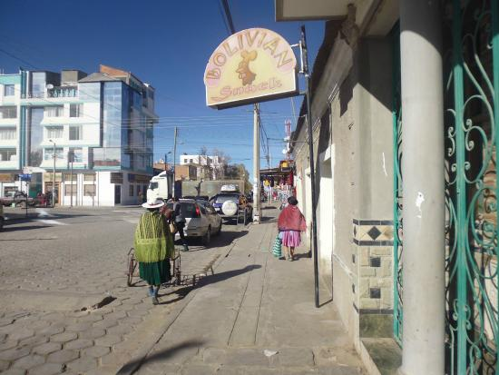 Los Girasoles Hotel: Around the corner