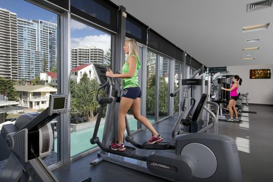 Q1 Resort and Spa : Work hard at the gym