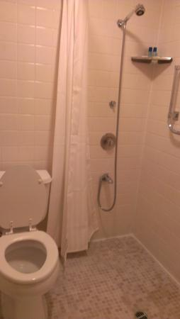 Columbia Gorge Inn: Efficient and Clean shower/toilet