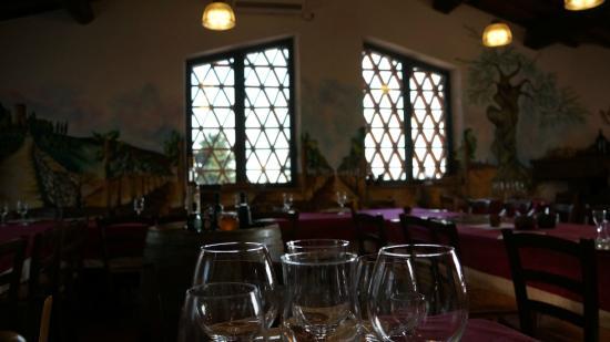 Sant'Agnese Farm : Dining Area