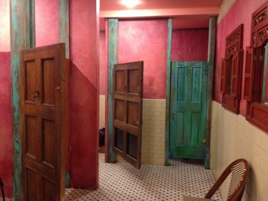 Women's bathroom - Picture of Cuba Libre Restaurant & Rum Bar ... on women in cooking, women in bathtubs, women using bathroom, women needing bathroom badly, women bathroom pee, two women bathroom, women in sweaters and jeans, women in animals, women in sink, women need bathroom she go, women in attic, women in gardening, women in walls, women in water, women in wc, women in hardware, women period, women in soap, women in car, women in ragged clothes,