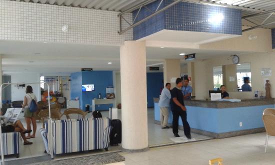 Hotel da Costa: Recepção