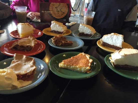 Pie Peddlers: Our afternoon treat!