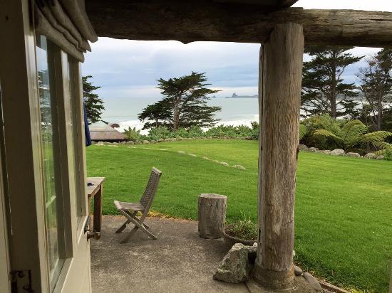 Ahu Ahu Beach Villas: View from our villa