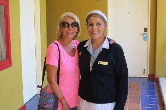 El Cid Marina Beach Hotel: Irma, the best maid we have ever had anywhere!