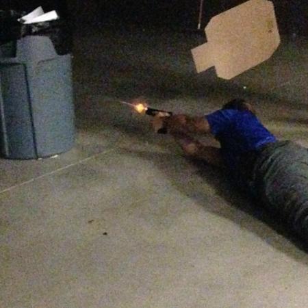 Stone Hart's Gun Club & Indoor Range: Taken at Practical Handgun Defense evening.
