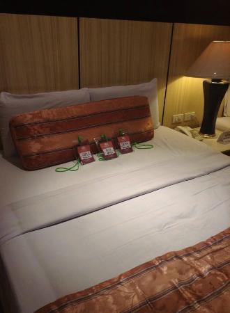 Cebu Grand Hotel: Nice beds