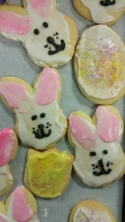 Tower Travel Center: Easter frosted sugar cookies