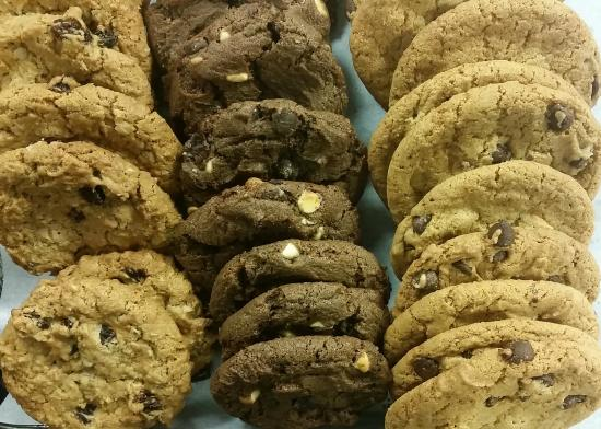 Tower Travel Center: Chocolate Chip Cookies and Macadamia Nut Cookie