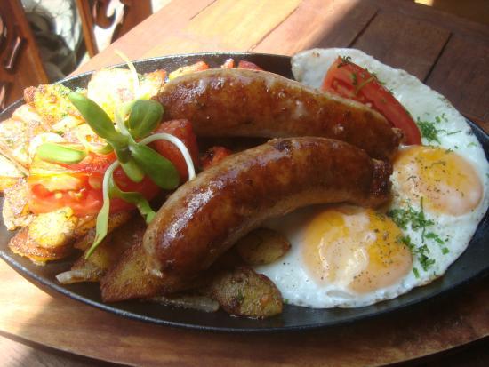 B11 German farmers breakfast - Picture of Chiang Mai Breakfast World ...