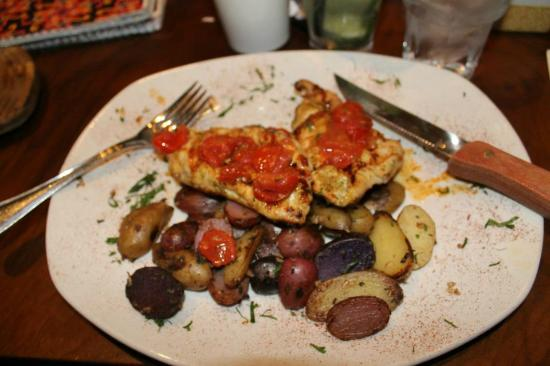 Max Brenner: Chicken Dish