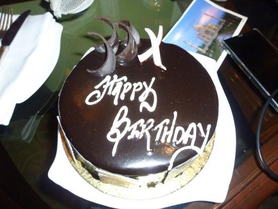 birthday cake - Picture of Shangri-La's Eros Hotel, New Delhi ...
