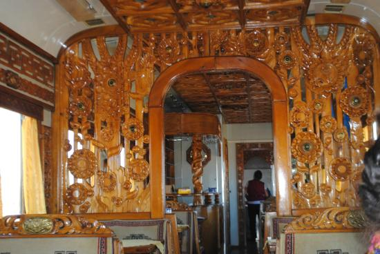 Lovely Trans Siberian Railway   Day Trips: Interior Of Mongolian Dining Car