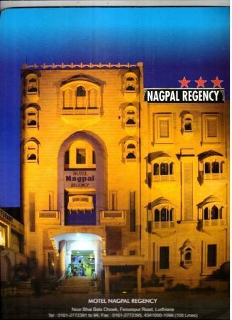 Hotel Nagpal Regency: Front of Hotel