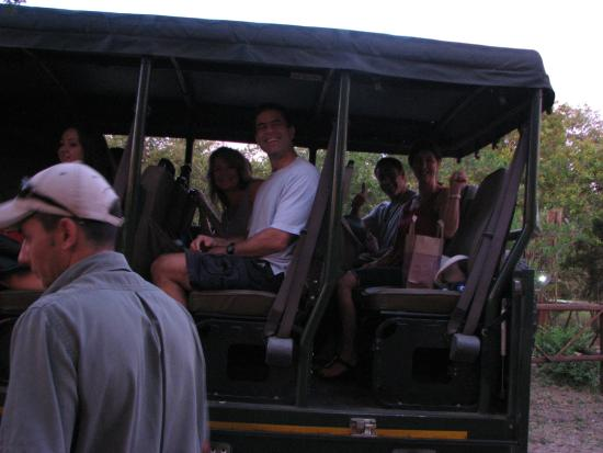 Turaco Lodge: off to Kruger National Park...