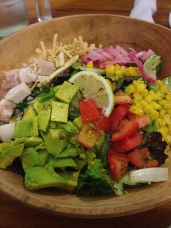 Green pastures : Avocado Salad