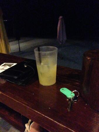 Negril Palms Hotel: Tiny $11.50 margarita