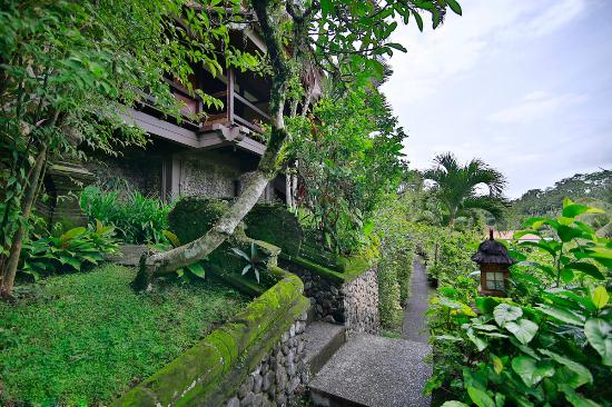 Bali Spirit Hotel and Spa: GARDEN