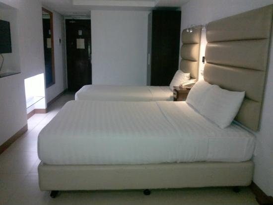 Wellcome Hotel: The bedroom