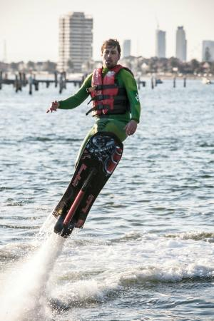 Go Flyboard: Hoverboard the new water sport