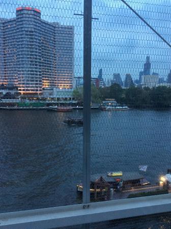 Prime Restaurant: The view from Prime, Millennium Hilton, Bangkok