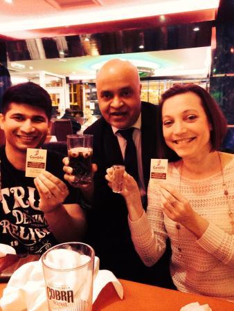 Gandhi: Lovely evening!