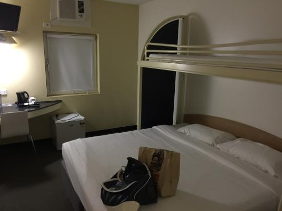 Ibis Budget Casula Liverpool : This is the whole room area