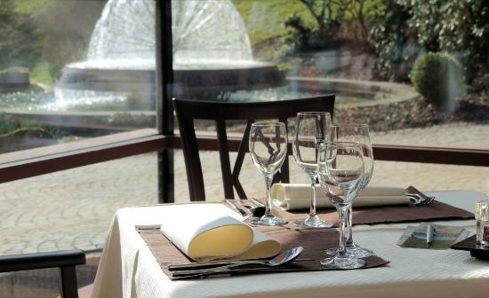 Hotel Therme Bad Teinach: Restaurant / Wintergarten