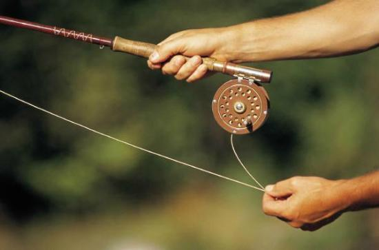 Fly Fishing Instruction Picture Of Comrie Perth And Kinross