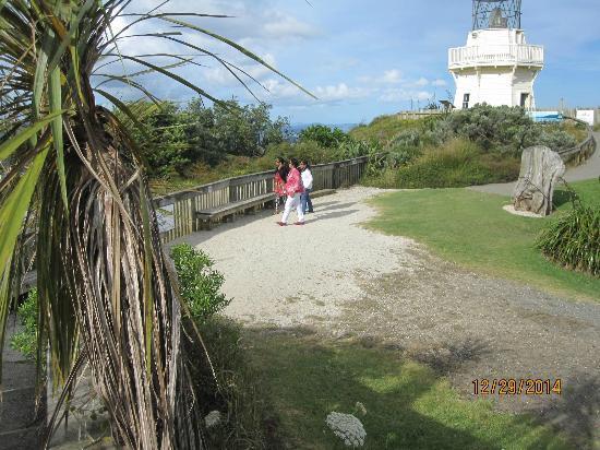 Manukau Heads Lighthouse : nearing the light house