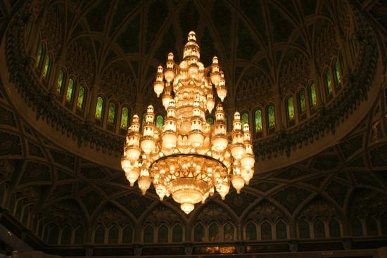 The biggest chandelier in the world 600000 crystal trimmings1122 sultan qaboos grand mosque the biggest chandelier in the world 600000 crystal trimmings aloadofball Gallery