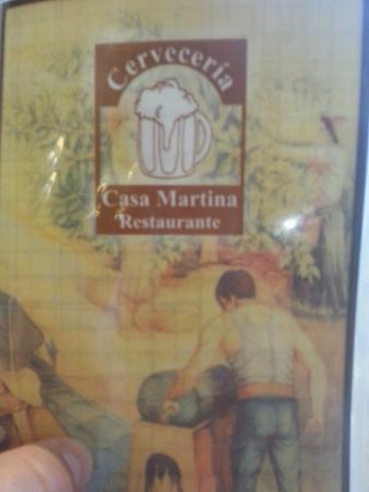 Cerveceria Restaurante Casa Martina: Identification Tiles
