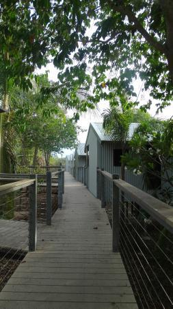 Groote Eylandt Lodge : Fishing huts