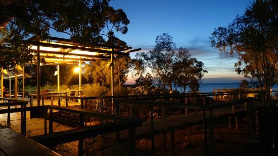 Groote Eylandt Lodge : End of twilight