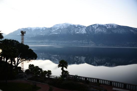 Hotel Collinetta : Vue depuis la chambre