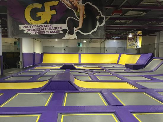 Gravity Force Trampoline Park Camberley