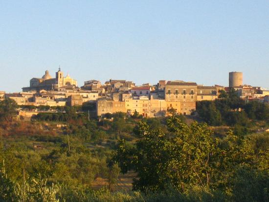 Biccari, إيطاليا: Vista panoramica di Biccari