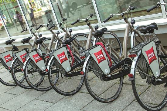 Ibis Dresden Bastei: hoteleigener Fahrradverleih