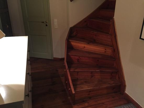 Hotel Der Bornerhof: The stairs to the attic