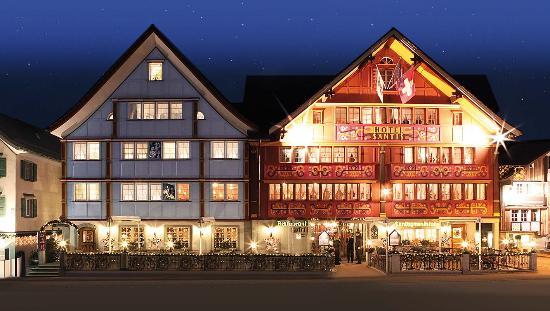 Romantik Hotel Säntis: Aussenaufnahme
