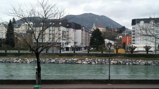 Beau Site Lourdes Hotel: vista dalla sala ristorante
