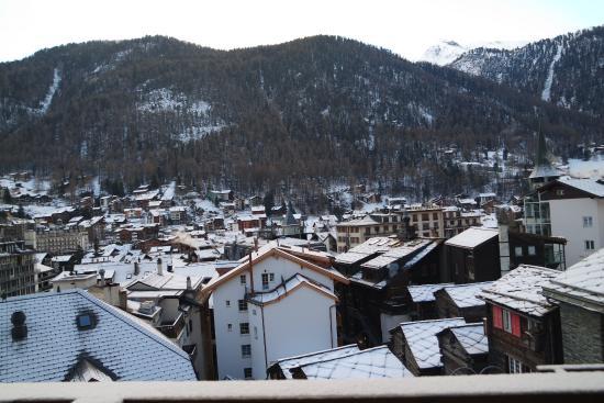 Hotel Romantica: View from Balcony