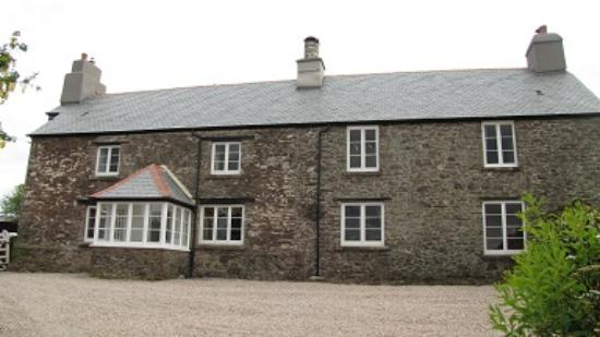 Worswell Barton Farmhouse
