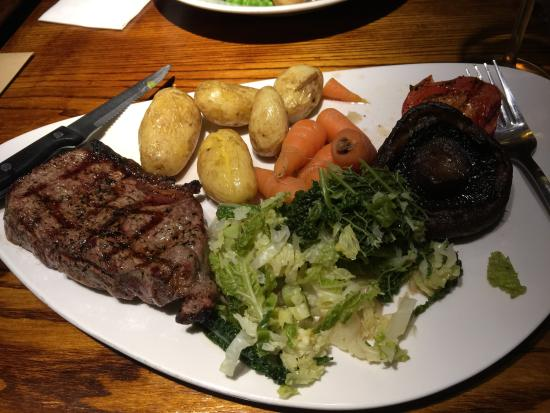 The White Lion: My meal with the changes- lush
