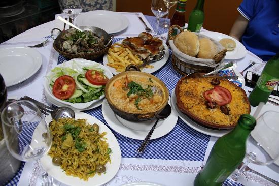 O SANTOS - Comida Portuguesa Restaurant : Eis Alguns Petiscos de O SANTOS COMIDA PORTUGUESA