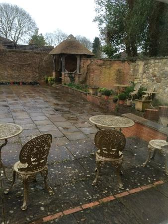 Chiseldon House: Aussenbereich