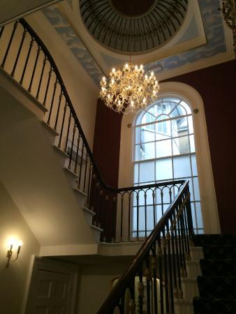 Chiseldon House: Treppenhaus