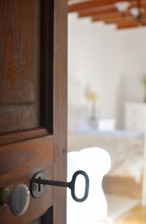 Hostal Rural Can Busquets: Detalle llave