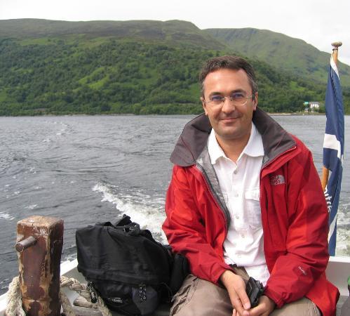 Ben Lomond: Crossing the lake