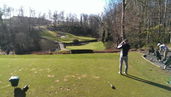 Druids Glen Golf Resort : Par 3 12th - cracking par 3, awesome design and beauty.